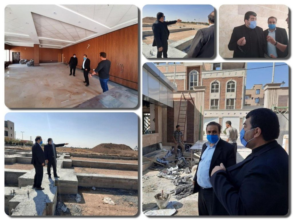بازدید شهردار صالحیه از پروژه های در حال احداث