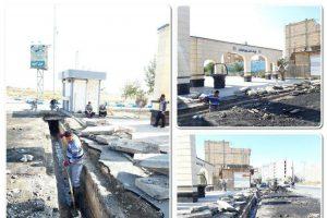آمادگی خدمات شهری شهرداری صالحیه برای مقابله با بحران های جوی / لایروبی نهرهای اصلی محلات آغاز شد