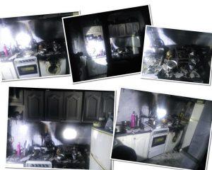 بیاحتیاطی خانه ای را به آتش کشید