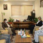 نشست شهردار صالحیه با رئیس جدید اداره ورزش و جوانان شهرستان بهارستان