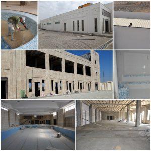 بهره برداری از مدرن ترین استخر شهرستان بهارستان در صالحیه