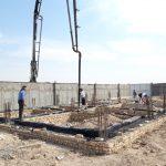 مرحله جدید از احداث اولین گلخانه شهر صالحیه