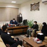 نشست محمد آگاهی مند با مسئولین بسیج شهر صالحیه
