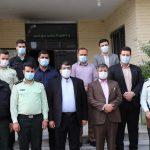 تقدیر شهردار و رییس شورای اسلامی صالحیه از کارکنان نیروی انتظامی کلانتری14