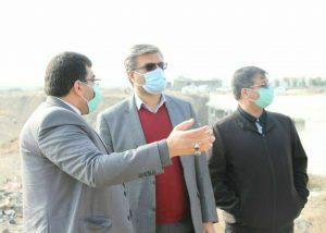 بازدید فرماندار جدید شهرستان بهارستان از صالحیه
