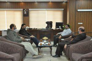 دیدار فرمانده تیپ ۲۰ رمضان با شهردار صالحیه