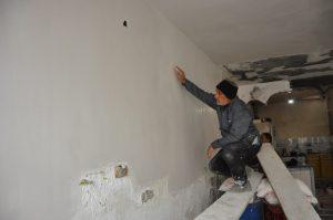 شروع بازسازی ساختمان حریق زده از سوی مدیریت شهری