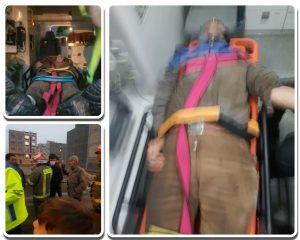 سقوط مرگبار کارگر ساختمانی از طبقه چهارم