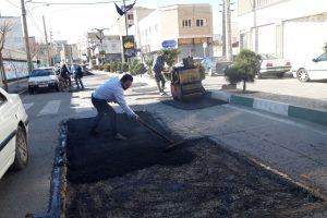 شروع زیرسازی خیابان شهید جهان آراء