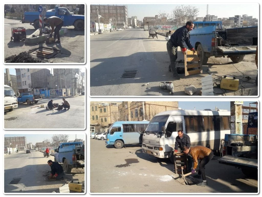 جبران تجهیزات شهری به سرقت رفته از محلات صالحیه