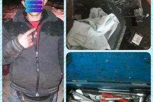 شب بیداری های اکیپ انضباط شهری آرام آرام نتیجه می دهد ؛ سارق خودرو حین دزدی دستگیر شد