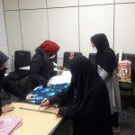 برگزاری کلاس های معوق خیاطی در مجموعه فرهنگی - هنری شهید امامی شهر صالحیه