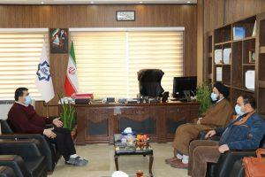 نشست مشترک شهردار صالحیه با مشاور و مدیر دفاتر حجت الاسلام نوروزی نماینده مردم شهرستان بهارستان
