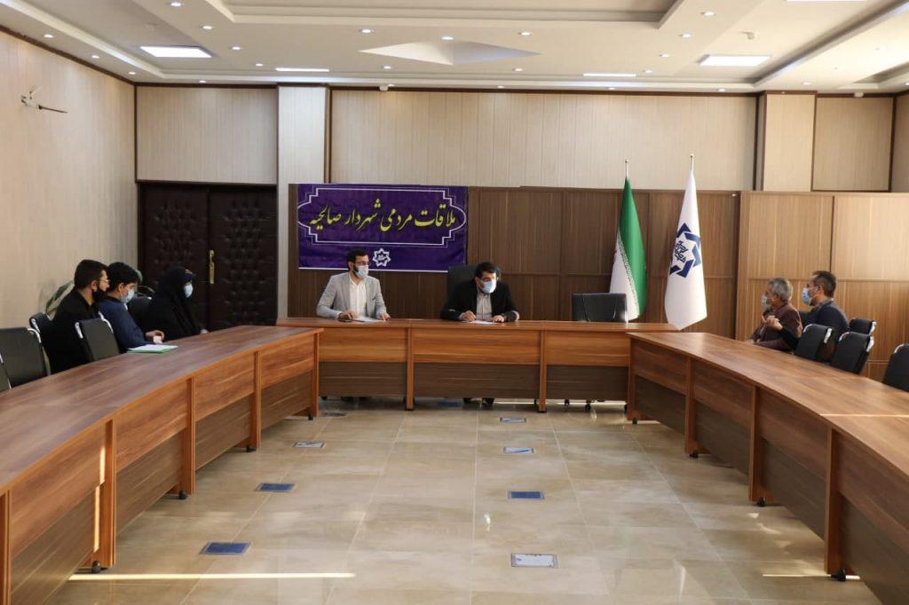 بیست و ششمین ملاقات مردمی شهردار صالحیه در سال جاری