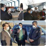 بازدید رئیس سازمان مدیریت و برنامه ریزی استان تهران از پروژه های در دست اقدام شهرداری صالحیه