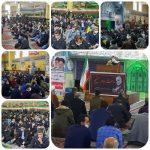 برپایی نماز عبادی و سیاسی روز جمعه در مصلی بخش گلستان
