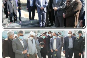 با حضور فرماندار بهارستان گلزار شهدای امامزاده باقر (ع) گلباران شد