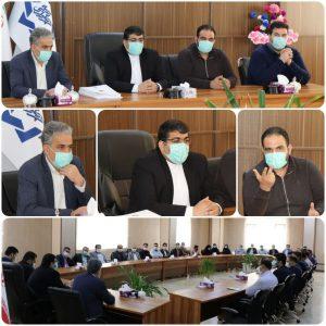 نشست پایان سال کارکنان شهرداری صالحیه با مدیریت شهری