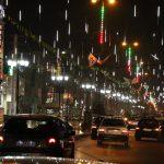 شبهای روشن در صالحیه؛ ۸۰ پایه چراغ روشنایی در بلوار حضرت ولیعصر(عج) نوسازی شد