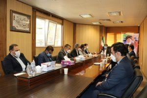 نخستین نشست شورای معاونین در ساختمان شورای اسلامی شهرصالحیه برگزار شد