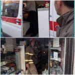 اقدامات آتش نشانان شهرداری صالحیه در دو روز گذشته