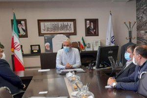 دیدار شهردار و رئیس شورای اسلامی شهر صالحیه با مدیرکل راه و شهرسازی استان تهران