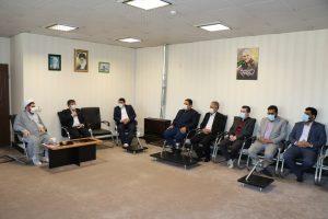 نخستین نشست شورای معاونین در ساختمان شورای اسلامی شهر صالحیه برگزار شد