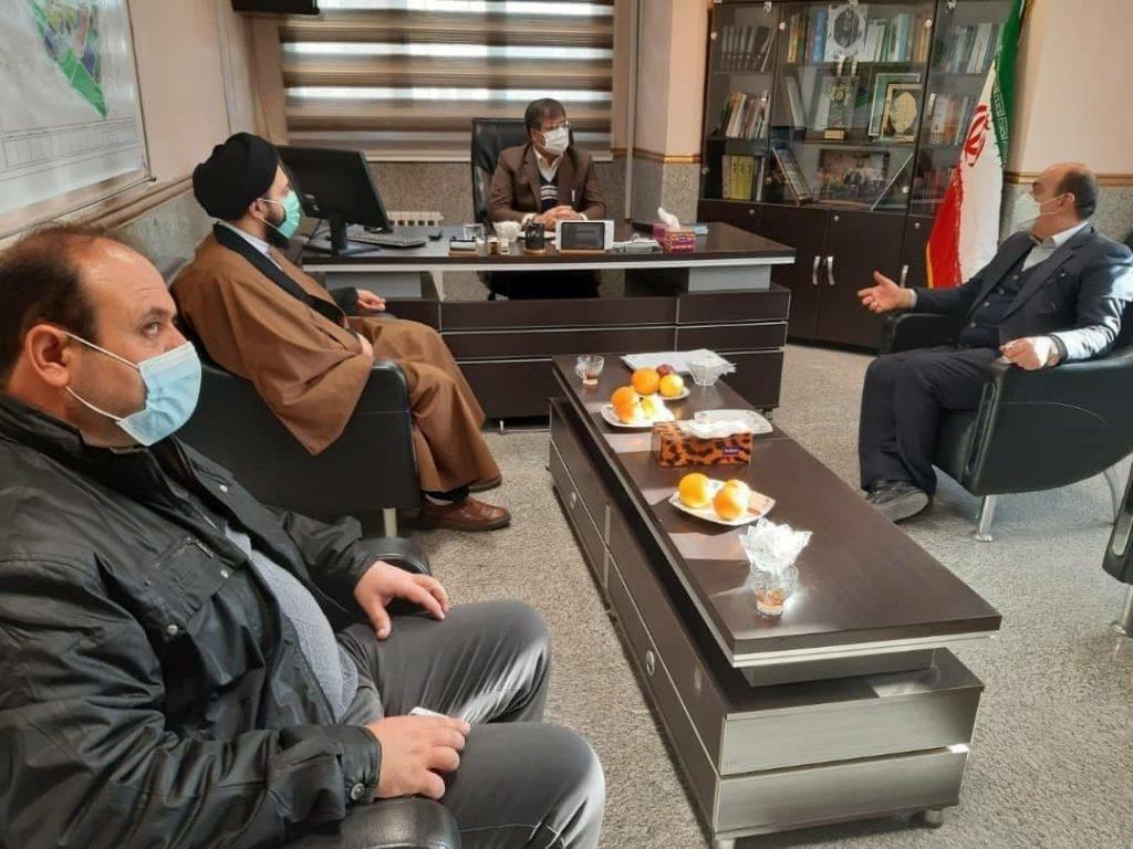دیدارمسئول دفاتر نماینده مجلس با رییس شورای اسلامی شهرصالحیه
