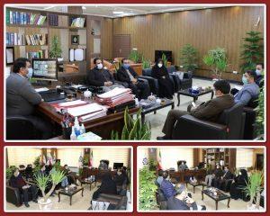 دیدار رییس اداره کتابخانه های عمومی شهرستان بهارستان با شهردار صالحیه برگزار شد