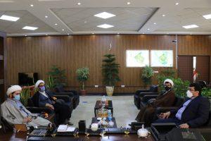 دیدار رئيس اداره تبليغات اسلامي شهرستان بهارستان با شهردار صالحیه