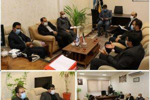 نشست هم اندیشی شهردار صالحیه با مدیران آب و فاضلاب برگزار شد