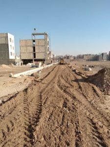 کوچه اندیشه پنج در خیابان امام علی (ع) برای اجرای آسفالت تسطیح شد