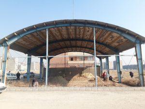 توسعه زیرساخت های مدیریت بحران در صالحیه