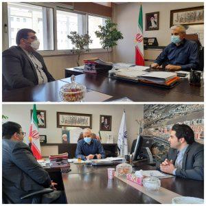 دیدار شهردار صالحیه با مدیرکل راه و شهرسازی استان تهران