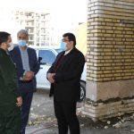 بازدید از نحوه احداث سومین پایگاه مدیریت بحران شهر صالحیه