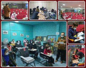 راه اندازی دوباره کلاس های آموزشی در صالحیه؛همزمان با اولین روز از دهه مبارک فجر