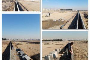 تکمیل فرایند جدولگذاری خیابان وصال صالحیه