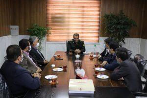 فرماندهی انتظامی شهرستان بهارستان میزبان شهردار و اعضای شورای اسلامی شهرصالحیه شد