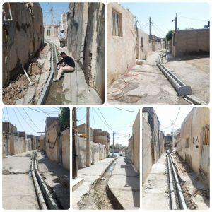 ساماندهی سکونتگاه قلعه اقدام مهم اینروزهای معاونت فنی و عمرانی شهرداری صالحیه