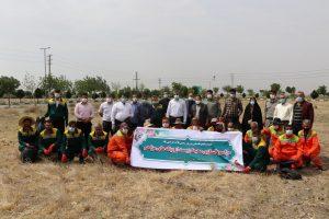 مراسم پاکسازی محیط زیست از زباله های مزاحم در صالحیه