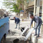 فرایند نوسازی و ساماندهی زیر سطلی های زباله