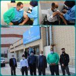 اجرای طرح واکسیناسیون مشاغل حساس شهرداری صالحیه