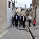 بازدید شهردار صالحیه از سکونتگاه غیررسمی قلعه
