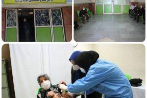 مرکز واکسیناسیون کرونای شهر صالحیه آغاز به کار کرد