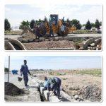 تدابیر شهرداری صالحیه برای رفع آبگرفتگی در انتهای خیابان ولیعصر (عج)