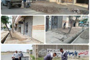 اقدامی رضایت بخش برای اهالی خیابان امام سجاد